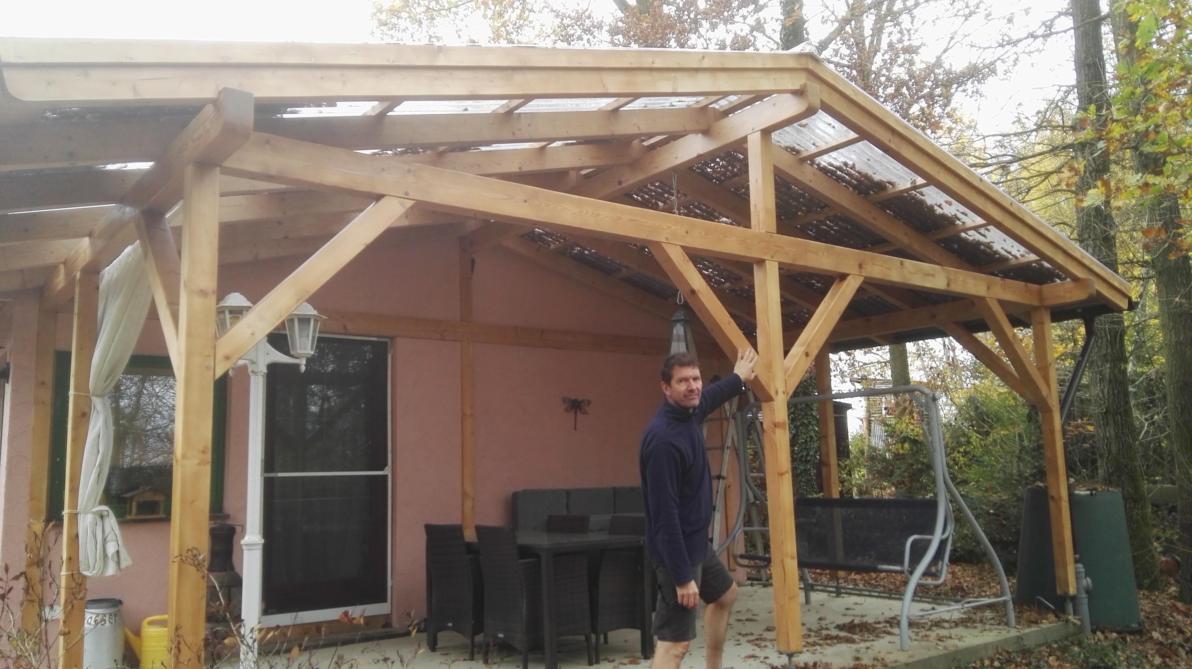 graues Holz wieder aufgefrischt