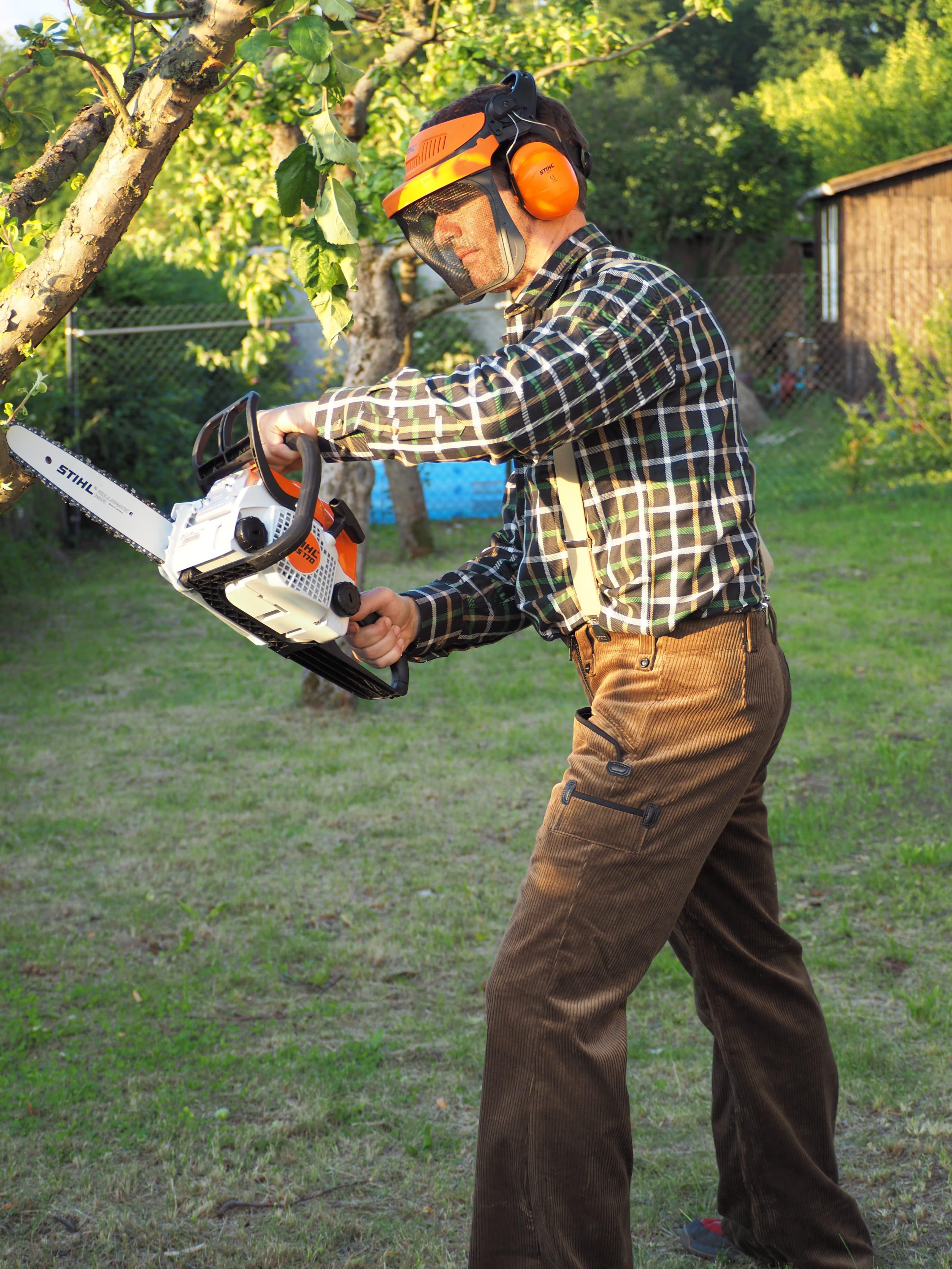 Gartenarbeiten übernehme ich gern für Sie.